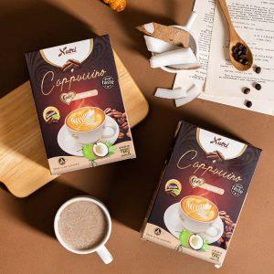 cà phê capuccino dừa