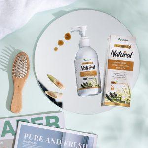 Dầu gội thảo dược Natural giúp mái tóc luôn suôn mượt