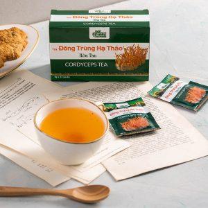 trà thảo dược đông trùng hạ thảo