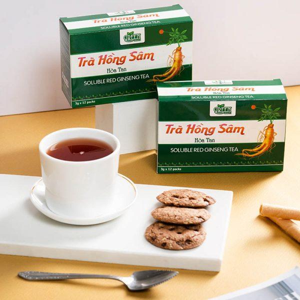 ưu điểm trà hồng sâm