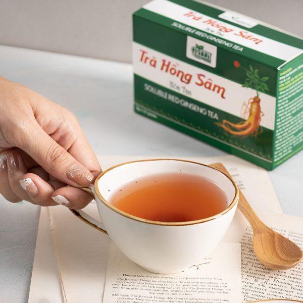 thành phần trà hồng sâm