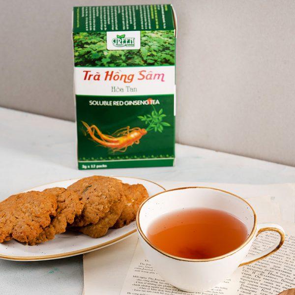 trà thảo dược hồng sâm