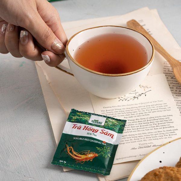trà hồng sâm bảo quản dễ dàng
