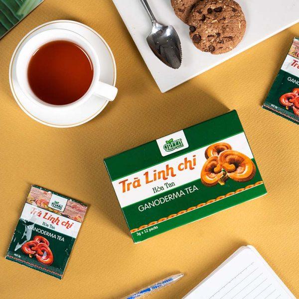 trà linh chi tốt cho sức khỏe