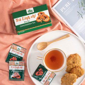 ưu điểm trà linh chi
