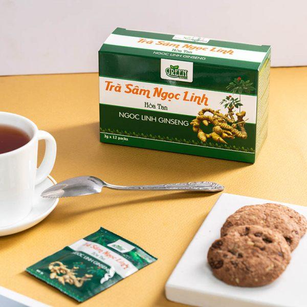 lợi ích trà sâm ngọc linh