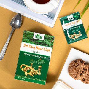 trà sâm ngọc linh tốt cho sức khỏe
