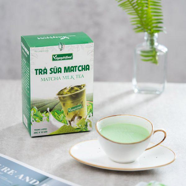trà sữa matcha tốt cho sức khỏe