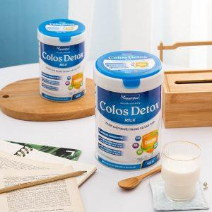 sữa colos detox có nhiều ưu điểm nổi trội