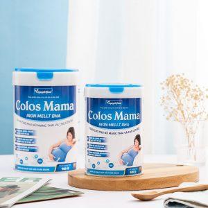 sữa bột colos mama iron mellt dha