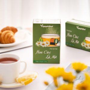 tác dụng trà túi lọc hoa cúc la mã