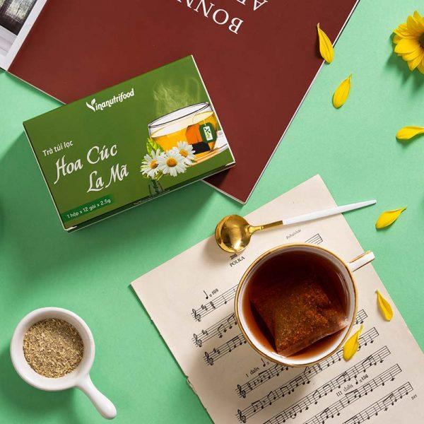 trà túi lọc hoa cúc la mã vinanutrifood