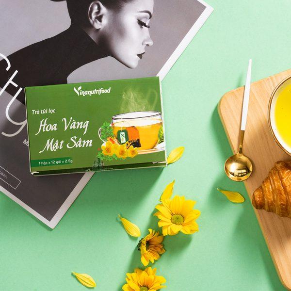 Trà Túi Lọc Hoa Vàng Mật Sâm chất lượng