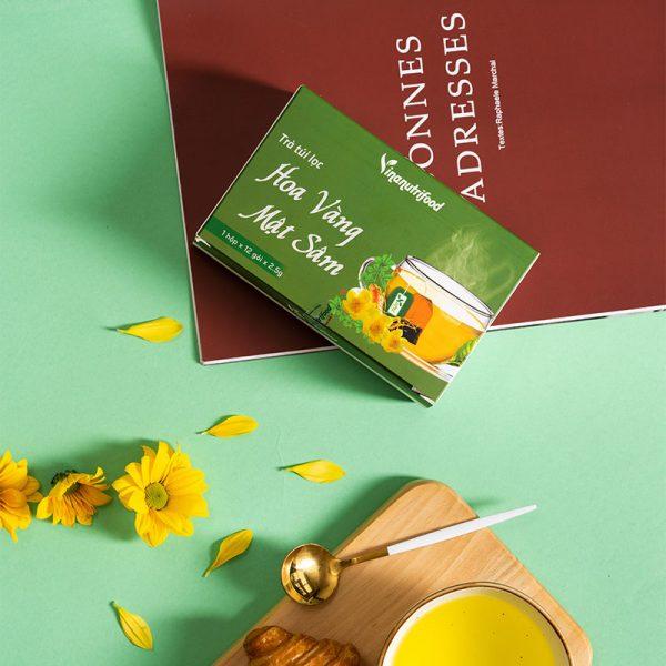 Trà Túi Lọc Hoa Vàng Mật Sâm tốt