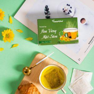Trà Túi Lọc Hoa Vàng Mật Sâm vinanutyrifood