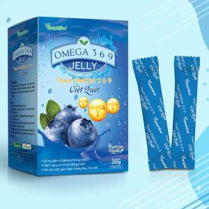 Thạch omega 369 - việt quất