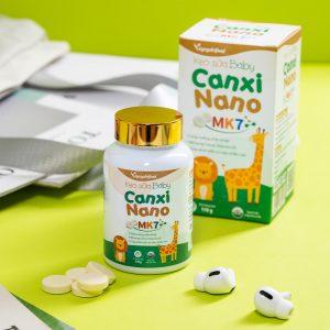 Kẹo Sữa Baby Canxi Nano MK7 vinanutrifood