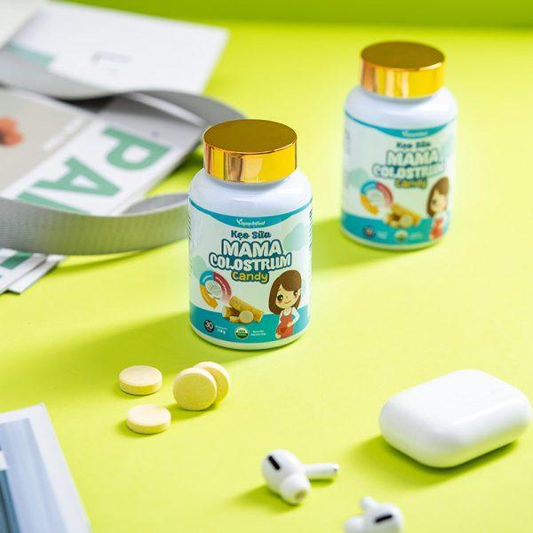 thành phần Kẹo Sữa Mama Colostrum Candy