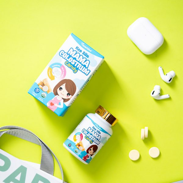 sản phẩm Kẹo Sữa Mama Colostrum Candy