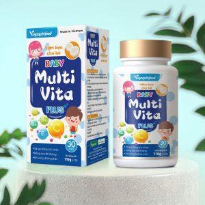 Keo Viên Cho Bé - Baby Multi Vita Plus