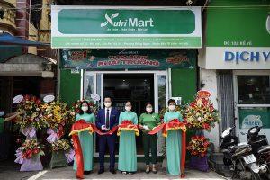 Khai trương chuỗi 200 siêu thị NutriMart