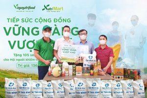NutriMart trao quà cho 105 người mù quận Thanh Xuân (Hà Nội)