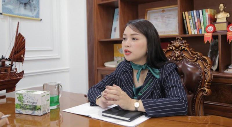 Bà Nguyễn Thị Diễm Hằng, Chủ tịch HĐQT Công ty Cổ phần Thực phẩm Dinh dưỡng Hữu cơ Việt Nam – Vinanutrifood