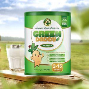 Green Daddy Men Sống Hồng Sâm Vinanutrifood