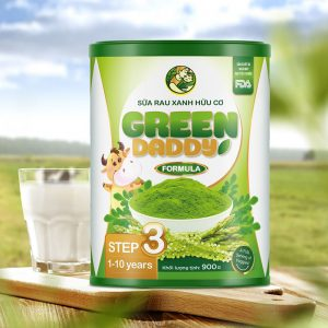 Green Daddy Sữa Rau Xanh Hữu Cơ Từ 1-10 Tuổi