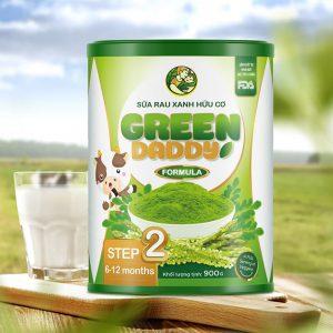 Sữa Rau Xanh Hữu Cơ Từ 6-12 Tháng Tuổi Green Daddy