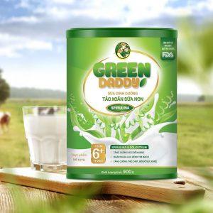 Green Daddy Sữa Dinh Dưỡng Tảo Xoắn Sữa Non