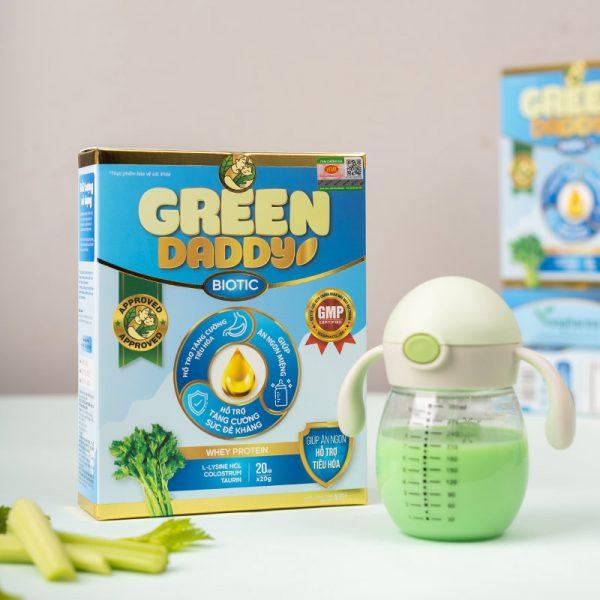 Green Daddy Biotic tốt cho tiêu hóa