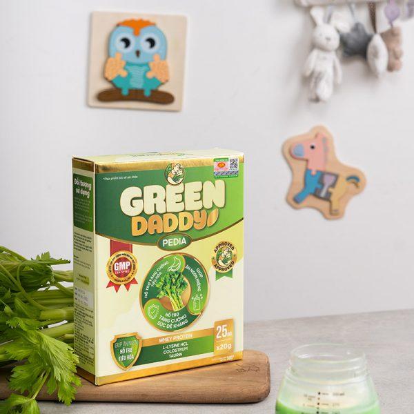 Sữa Green Daddy Pedia ngon