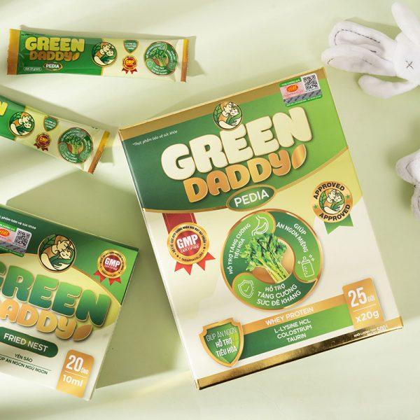 Sữa Green Daddy Pedia già dinh dưỡng