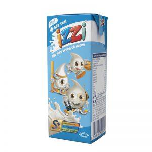 Sữa tiệt trùng IZZI Có đường 180B S+